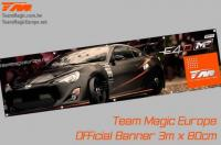 Banner - Team Magic - E4D-MF T86 - 300 x 80cm
