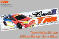 Banner - Team Magic - E4JR II - 300 x 80cm