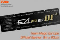 Banner - Team Magic - E4RS III Plus - 300 x 80cm