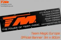Banner - Team Magic - TM Logo - 300 x 80cm