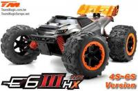 Car - Monster Truck Electric - 4WD - RTR - Brushless 2200KV - 4S/6S - Waterproof - Team Magic E6 III HX