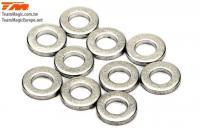 Washers -  3.5 x 7 x 1mm (10 pcs)