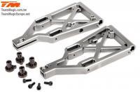 Option Part - E6 Trooper / Trooper II / E6 III - Aluminum Titanium anodized - Lower Arm (2 pcs)