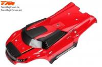 Body - Monster Truck - Painted - E6 III HX - Red