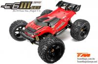 Car - Monster Truck Electric - 4WD - RTR - Brushless 2200KV - 4S/6S - Waterproof - Team Magic E6 III BES
