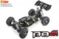 Car - 1/8 Electric - 4WD Buggy - ARR - Team Magic B8ER Yellow/Black without Electronics