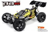 Car - 1/8 Electric - 4WD Buggy - RTR - 2500kv Brushless Motor - 4S - Waterproof - Team Magic B8ER Yellow/Black