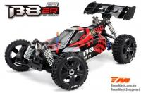 Car - 1/8 Electric - 4WD Buggy - RTR - 2500kv Brushless Motor - 4S - Waterproof - Team Magic B8ER Red/Black