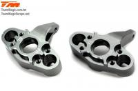 Option Part - E5 - CNC Machined Steering Block - Titanium (2 pcs)
