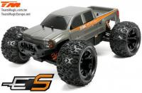 Car - 1/10 Monster Truck Electric - 4WD - RTR - Brushed - Waterproof - Team Magic E5 - Silver Body