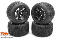Tires - 1/10 Truck - mounted - E5 Street Style (2 pcs)