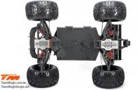 Car - 1/10 Racing Monster Electric - 4WD - ARR - Team Magic E5 HX with option parts
