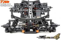 Auto - 1/10 Electrique - 4WD Touring - Compétition - Team Magic E4RS4 (version 2018) Kit