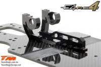 Auto - 1/10 Electrique - 4WD Touring - Compétition - Team Magic E4RS4 (version 2018) Kit