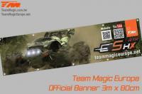 Banner - Team Magic - E5 HX - 300 x 80cm