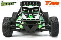 Auto - 1/8 Elektrisch - 4WD Desert Truck - RTR - 2200kv Brushless Motor - 3-6S - Wasserdicht - Team Magic SETH Grün/Schwarz