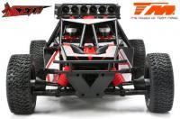 Auto - 1/8 Elektrisch - 4WD Desert Truck - RTR - 2200kv Brushless Motor - 3-6S - Wasserdicht - Team Magic SETH Rot/Schwarz