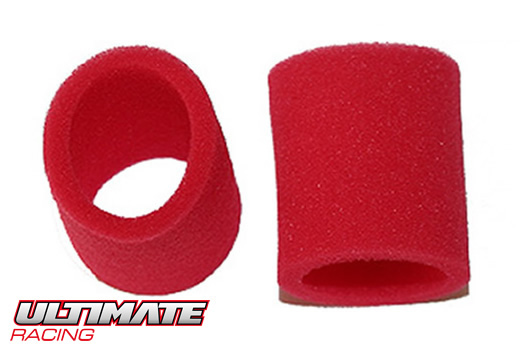 Ultimate Racing - UR0509 - Air Filter - 1/8 - External Foam - for Team Losi filter (2 pcs)