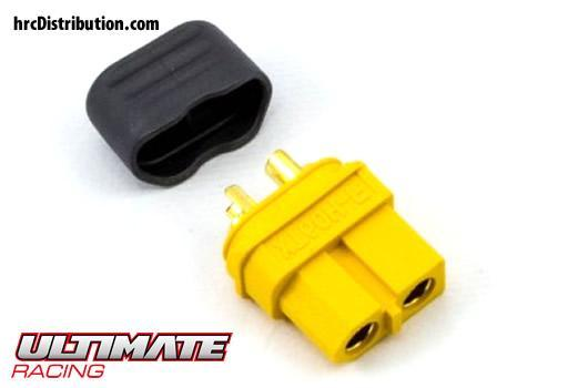 Ultimate Racing - UR46208 - Connector - Gold - XT60 - Male (1 pc)