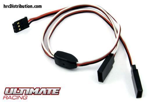 Ultimate Racing - UR46212 - Cable - Y - Futaba type - 30cm