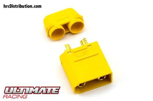 Ultimate Racing - UR46301 - Connector - Gold - XT90 - Female (1 pc)