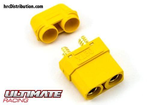 Ultimate Racing - UR46302 - Connector - Gold - XT90 - Male (1 pc)