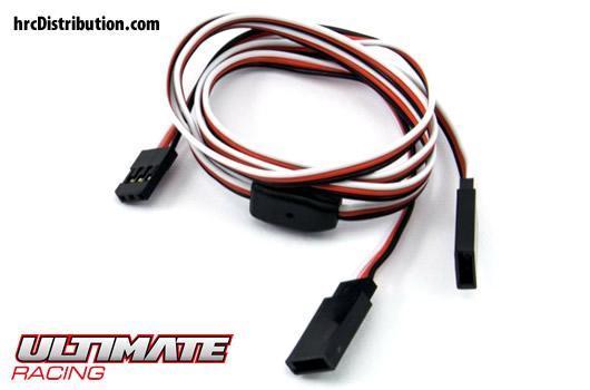Ultimate Racing - UR46303 - Cable - Y - Futaba type - 60cm