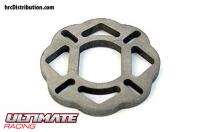 Option Part - Titanium Progressive Brake Disc - for Kyosho / Hobao / HongNor