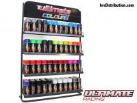 Lexan Paint - Ultimate Colours - Display with 132 sprays