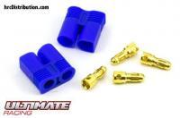 Connector - Gold - EC3 - Male (2 pcs)