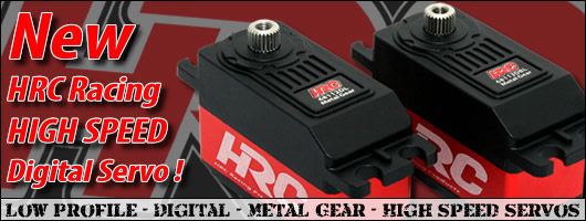 HRC Racing Low Profile Digital High Speed Servos